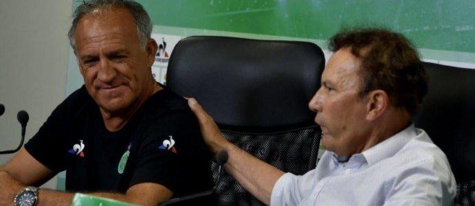 Romeyer toujours à fond derrière son coach !