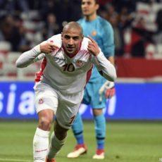 Khazri voit double, la Tunisie domine logiquement la Libye