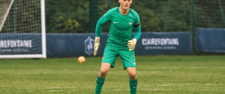 Clean sheet pour Bajic avec l'équipe de France U19