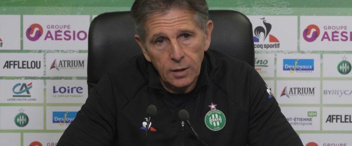 Claude Puel : «Rester compétitif malgré l'enchaînement des matches»