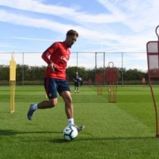 Saliba se soigne à Londres avec Arsenal