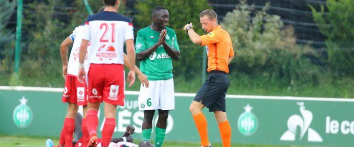 #National2 : Les Verts défaits, Assane Diousse expulsé !