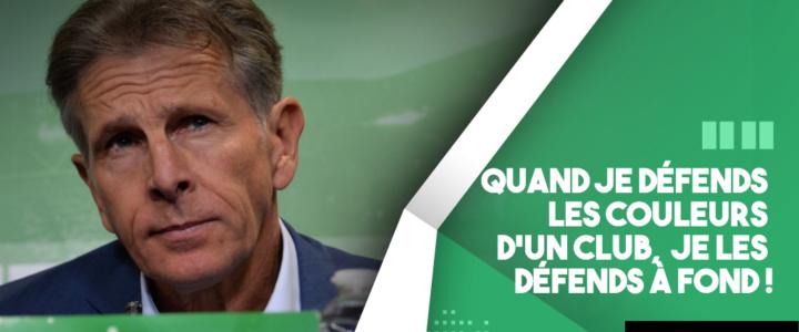 Claude Puel: «Un grand club avec une grande histoire»