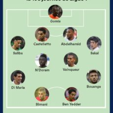 Saliba dans le 11 de France Football