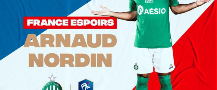 Arnaud Nordin retenu en équipe de France Espoirs
