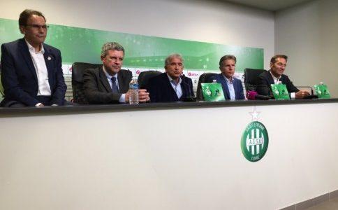 La conférence de presse de Caïazzo et Romeyer