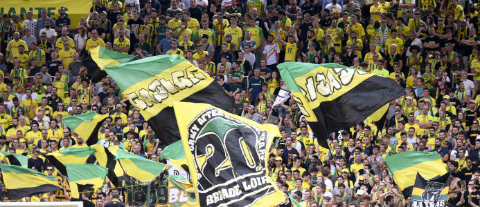 FC Nantes : un feu d'artifice magistral est prévu contre l'ASSE