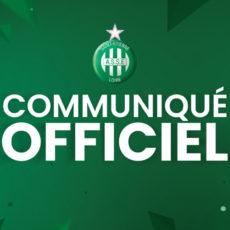 Le match amical ASSE-Servette Genève annulé!