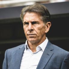 Claude Puel: 4 matches et un record