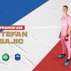 U19: Stefan Bajic en course pour l'Euro 2020