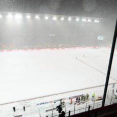 ASSE : la neige perturbe le programme des Verts