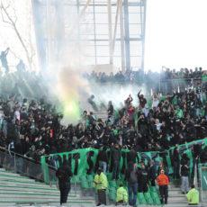 ASSE: des Ultras croates, allemands et bordelais en soutien des Verts en Ukraine?