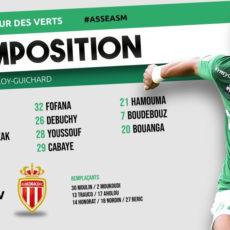 ASSE 1-0 Monaco: Denis Bouanga libère les Verts!