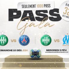 Paris et Marseille en vente dans un PASS Gala en édition limitée
