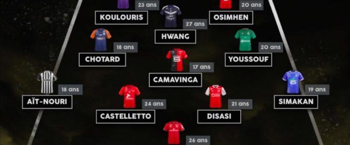 Youssouf dans l'équipe-type des premières révélations de la saison