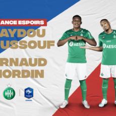 Nordin et Youssouf ont participé à la victoire des Bleuets