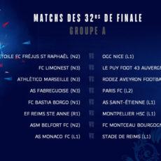 L'ASSE contre le FC Bastia Borgo en 32e de finale!