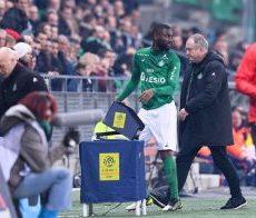ASSE – PSG (0-4) : Denis Bouanga enrage contre un fait de jeu
