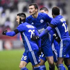 Résultats L1 : le Stade Rennais et le RC Strasbourg mènent, tous les scores (mi-temps)