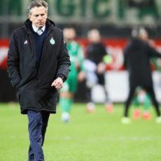 ASSE : Claude Puel est inquiet pour la suite de la saison…