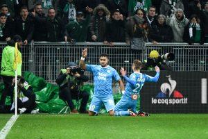 Résultat Ligue 1 : l'OM facile face à une ASSE inexistante (2-0)