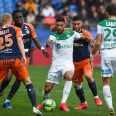 Les notes des Verts face à Montpellier