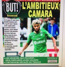 ASSE-Exclu But!: sa saison, sa relation avec Puel… Mahdi Camara se confie