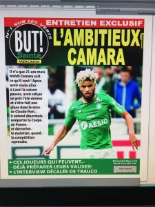 ASSE Exclu But!: le maintien, la Coupe de France, les Espoirs.. Mahdi Camara se confie