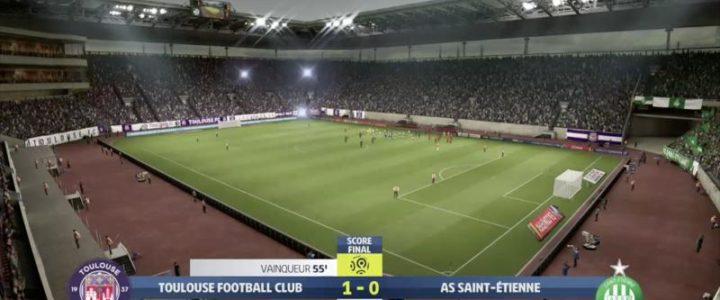Toulouse – ASSE : notre simulation FIFA 20 !