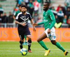 ASSE – Girondins (1-1) : Aholou victime d'une crasse en plein match