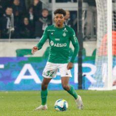 Le onze de départ des Verts face à l'OGC Nice