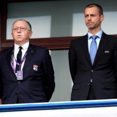 Le Président de l'UEFA vole au secours d'Aulas et assure que la Ligue 1 aurait pu continuer