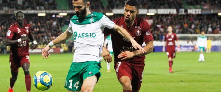 ASSE : un attaquant des Verts courtisé par 4 clubs de Ligue 1 ?