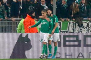 ASSE – Mercato: le FC Lorient avance sur un autre Vert que Romain Hamouma