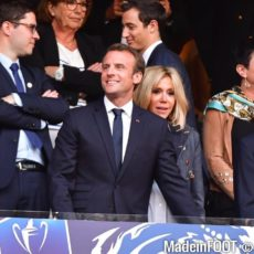 Emmanuel Macron favorable au retour du public dans les stades français