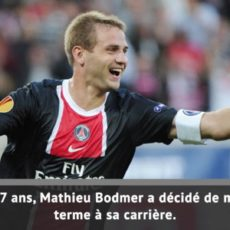 Mathieu Bodmer raccroche les crampons !