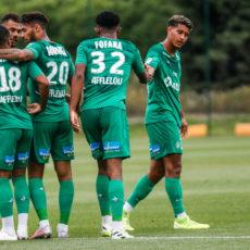 ASSE-Charleroi : Des Verts «puissance 4» qui enchaînent !