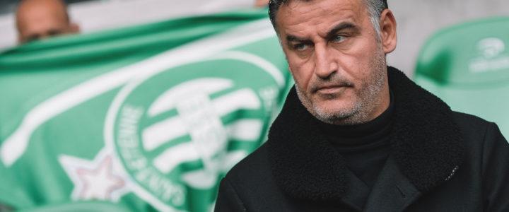 Galtier : «Je pense que Saint-Étienne mérite sa victoire»