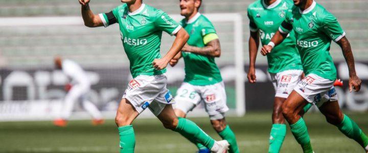 La compo officielle des Verts face à Rennes
