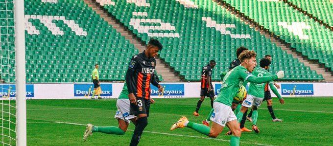 L'ASSE s'incline 3-1 face à Nice