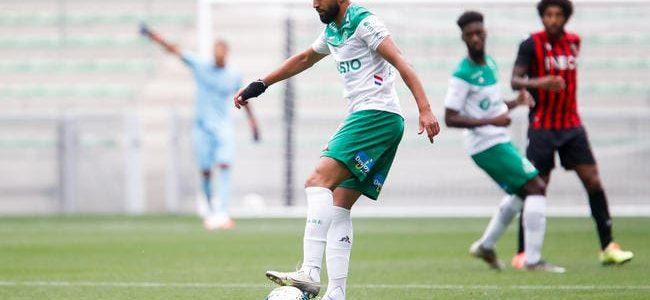 ASSE: Boudebouz sur un coup de tête, Saint-Etienne perd 5 ME