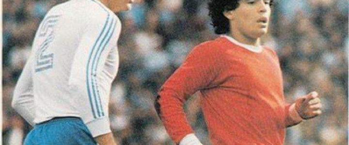 L'hommage à Maradona