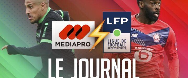 L'avant match de Saint-Étienne – Angers dans le JT de MadeInFOOT