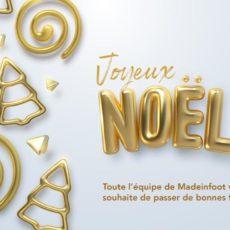 La rédaction de MadeInFOOT vous souhaite un joyeux Noël !