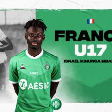 Israël Kinunga Mbala retenu pour un stage avec l'équipe de France U17