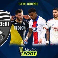 Le carton de l'OL, la victoire de Monaco, le choc Lille-PSG et le drame à Lorient… Le podcast de la 16e journée de L1