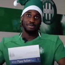 📺 Les joueurs de l'ASSE s'échangent leurs cadeaux de Noël !
