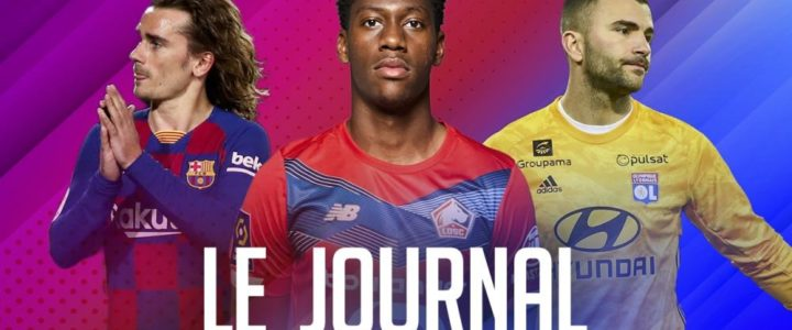 Lyon perd sa place de leader, Lille en profite, le récap L1 et les résultats à l'étranger : le journal du lundi 18 janvier