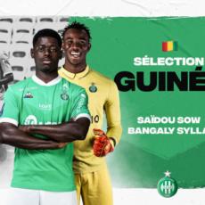 Saïdou Sow et Bangaly Sylla qualifiés pour la CAN 2022