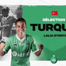 Lalia Storti sélectionnée par la Turquie